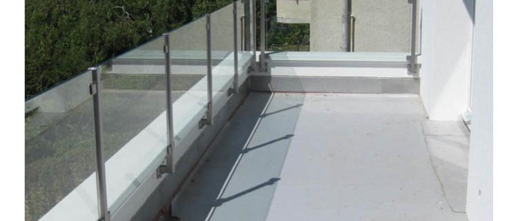 js metal barri re de balcon en verre. Black Bedroom Furniture Sets. Home Design Ideas